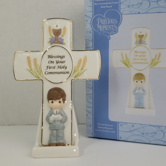 Communion cross with Stand Boy